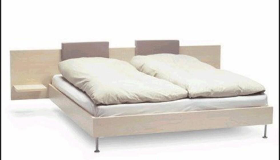 Bolia.com, nettbasert nykommer i Norge, tilbyr sengen Tipo til 3.950 kroner.