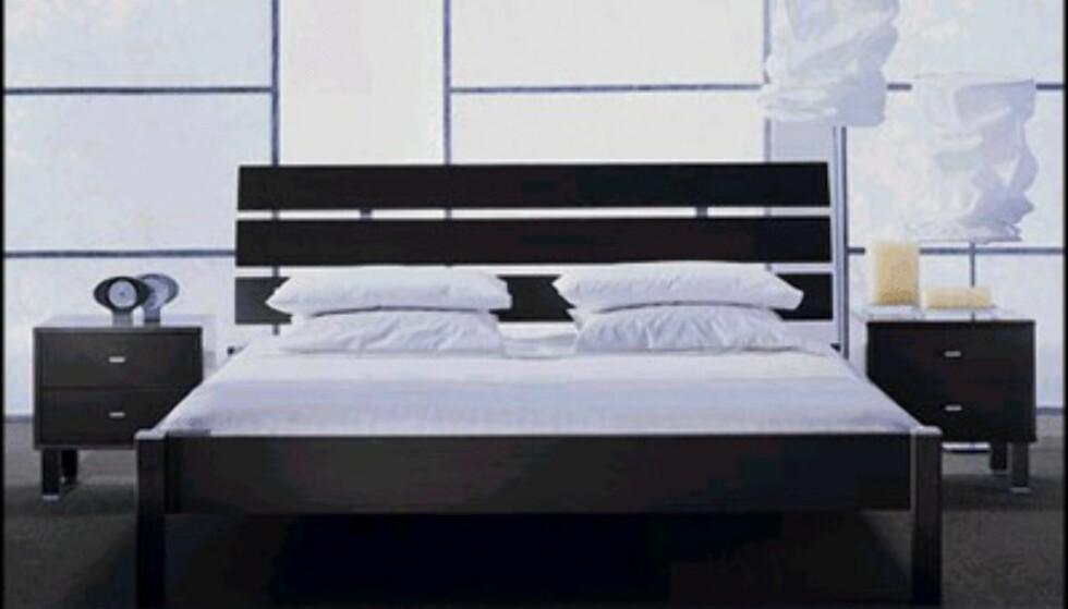 Club 8 (i Norge Skeidar) leverer denne sengen fra serien Solid & Basic. Prisen er rundt 4.000 kroner.