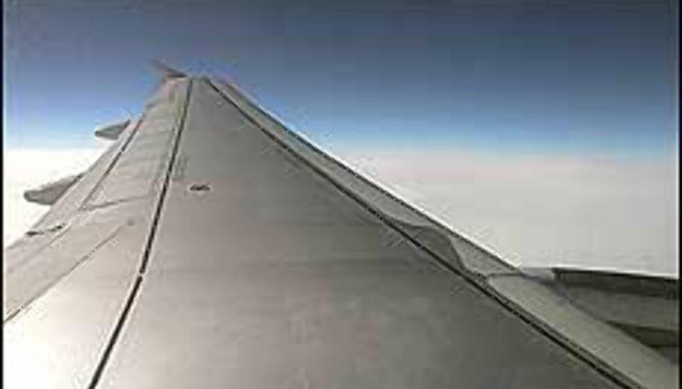 Utflukten i fly ble ikke som forventet. Illustrasjonsfoto
