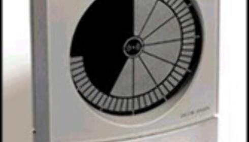 Klokke uten tall/visere