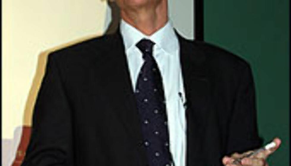 Sterlings direktør, Johnni Overbye.