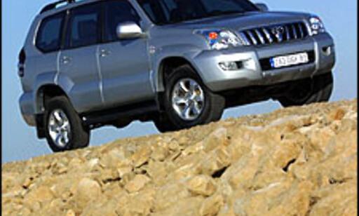 image: Splitter ny Toyota Landcruiser