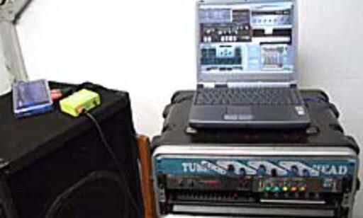 image: Koffert PC - mobil musikk-server