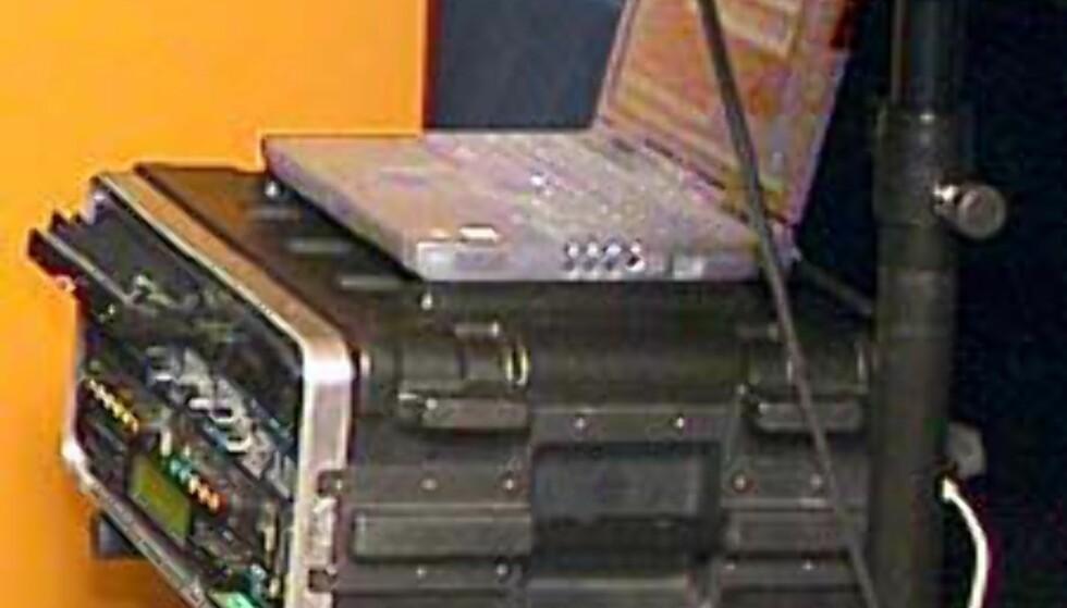 Koffert PC - mobil musikk-server