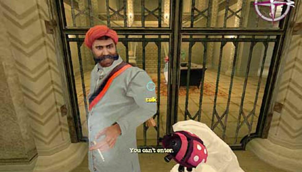 Bilde - Jeg SKAL inn den porten