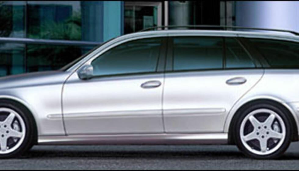 <strong>Mercedes-Benz E-klasse:</strong> klart for stasjonsvognutgaven.
