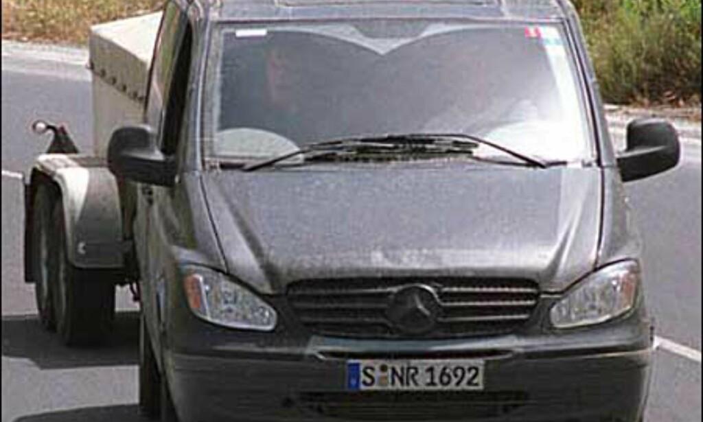 Mercedes-Benz V-klasse: Modellskifte til glede for storfamilier og yrkessjåfører.