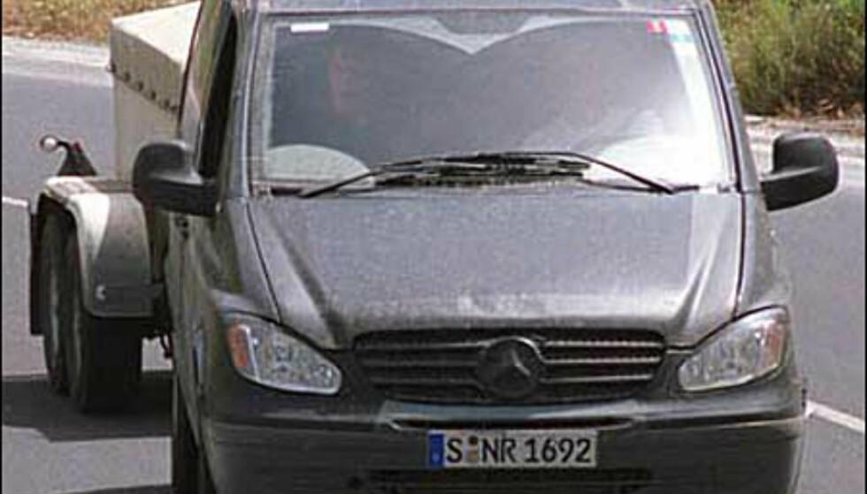 <strong>Mercedes-Benz V-klasse:</strong> Modellskifte til glede for storfamilier og yrkessjåfører.