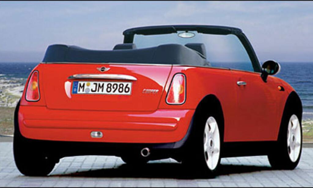 Mini: Kabriolet antakelig klar til neste sommer.