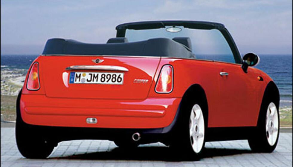 <strong>Mini:</strong> Kabriolet antakelig klar til neste sommer.