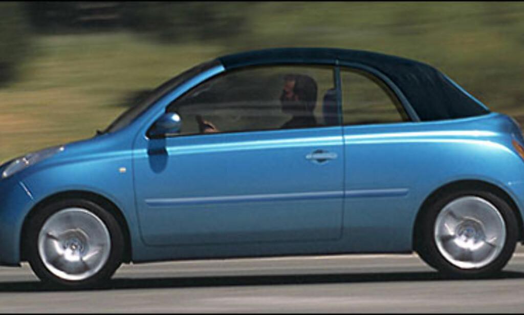 Nissan Micra Cabrio: Nissans nye småbil i kabrioletversjon.
