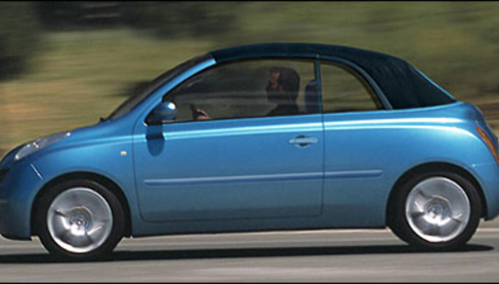<strong>Nissan Micra Cabrio:</strong> Nissans nye småbil i kabrioletversjon.
