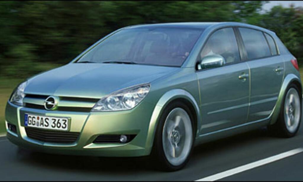 Opel Astra: Nye Astra klar til 2003, Zafira kommer året etter.