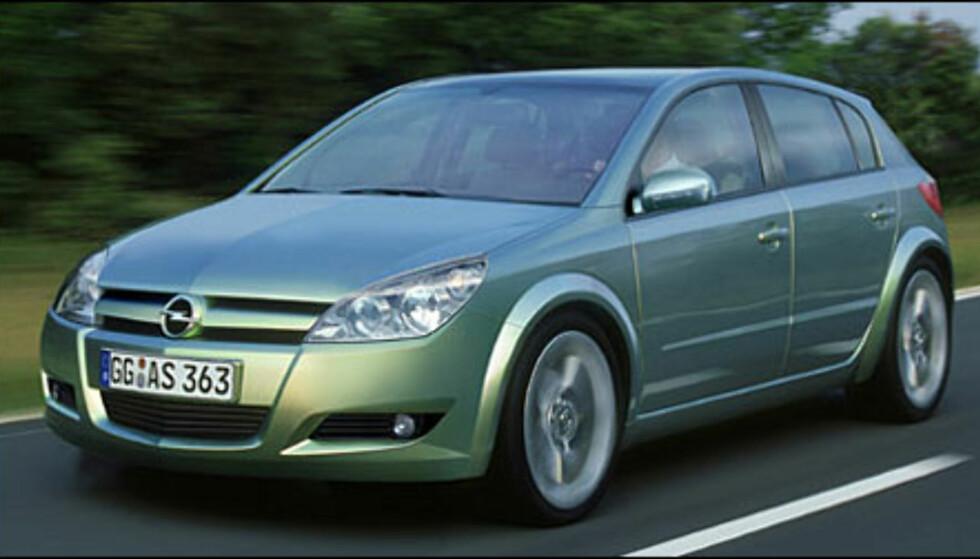 <strong>Opel Astra:</strong> Nye Astra klar til 2003, Zafira kommer året etter.