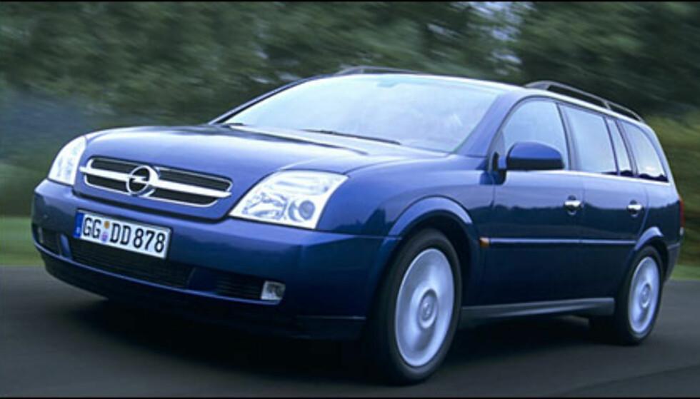<strong>Opel Vectra:</strong> Stasjonsvognutgaven kommer til våren.