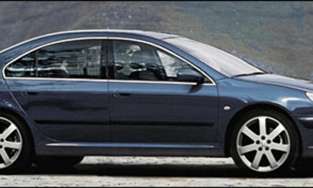 Peugeot 407: Etterfølger 406.