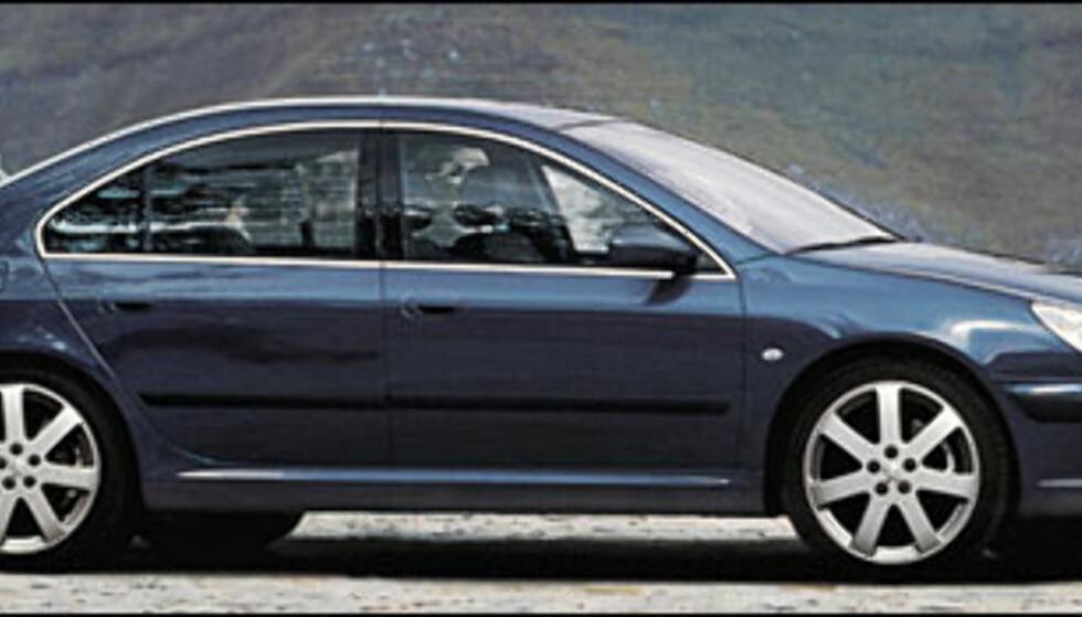 <strong>Peugeot 407:</strong> Etterfølger 406.