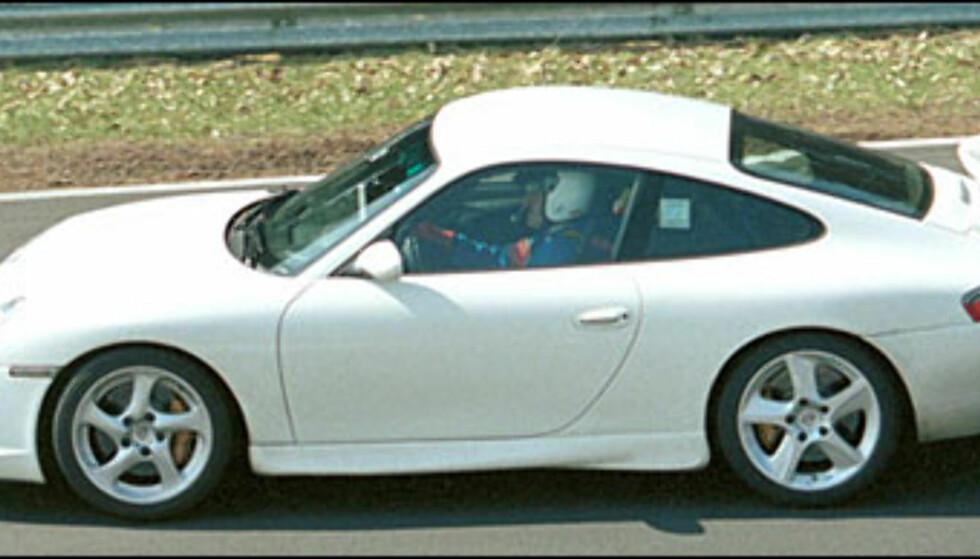 <strong>Porsche GT3:</strong> Det skal bygges 500 av denne spesialutgaven av 911 Carrera.