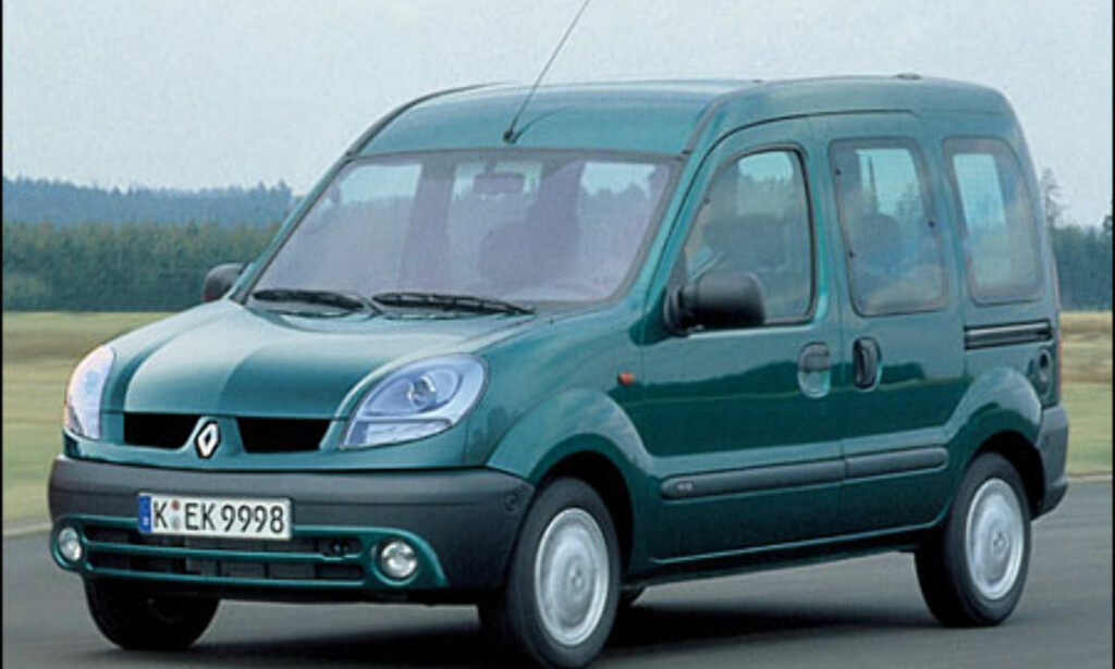 Renault Kangoo: Ansiktsløftning.