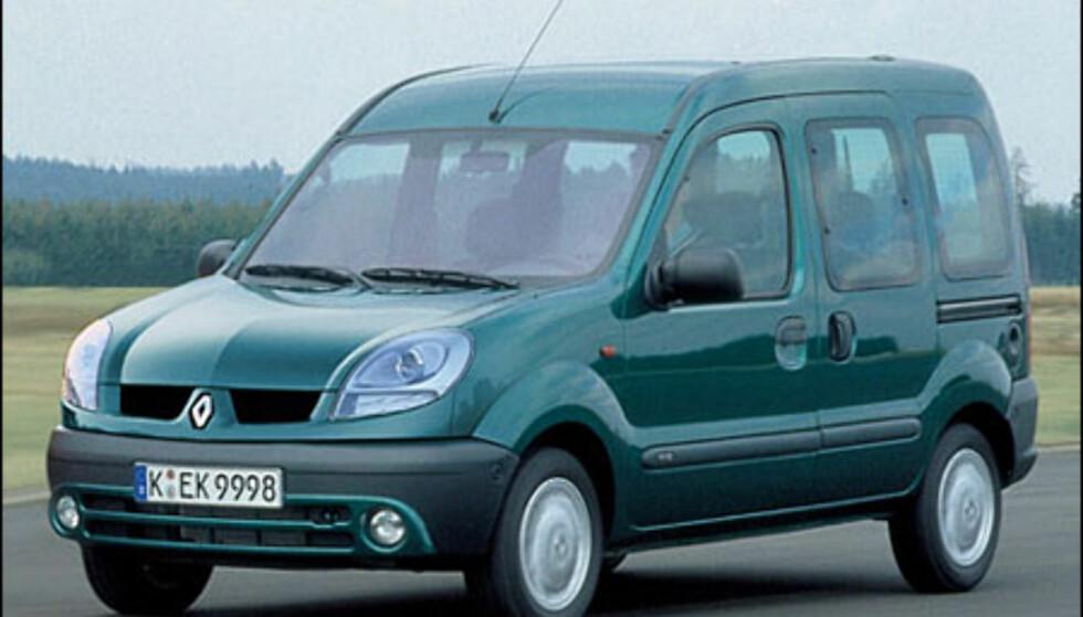 <strong>Renault Kangoo:</strong> Ansiktsløftning.
