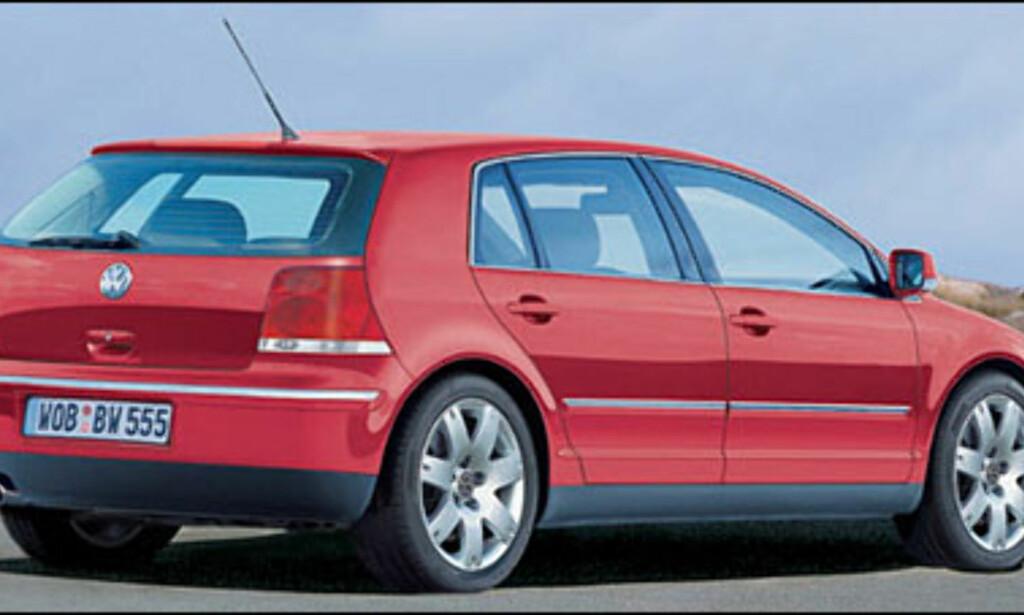 VW Golf: Femte generasjon kanskje klar til Frankfurt-utstillingen til høsten.