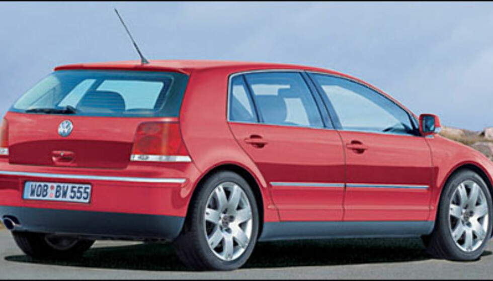 <strong>VW Golf:</strong> Femte generasjon kanskje klar til Frankfurt-utstillingen til høsten.
