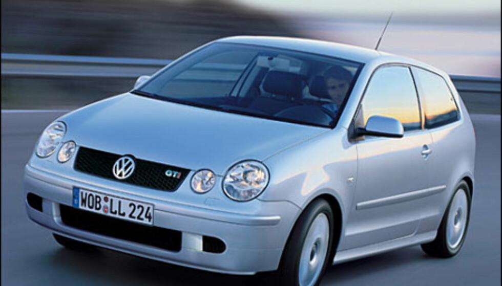 <strong>VW Polo:</strong> GTI-versjonen dukker opp på senvinteren.