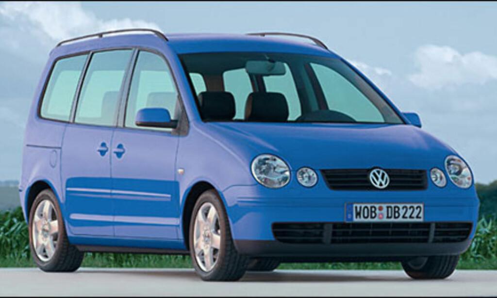 VW Polo: Mini-flerbruksbil kommer til våren.