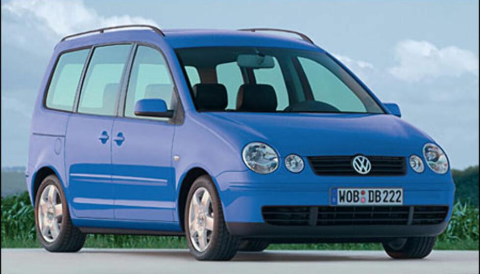 <strong>VW Polo:</strong> Mini-flerbruksbil kommer til våren.