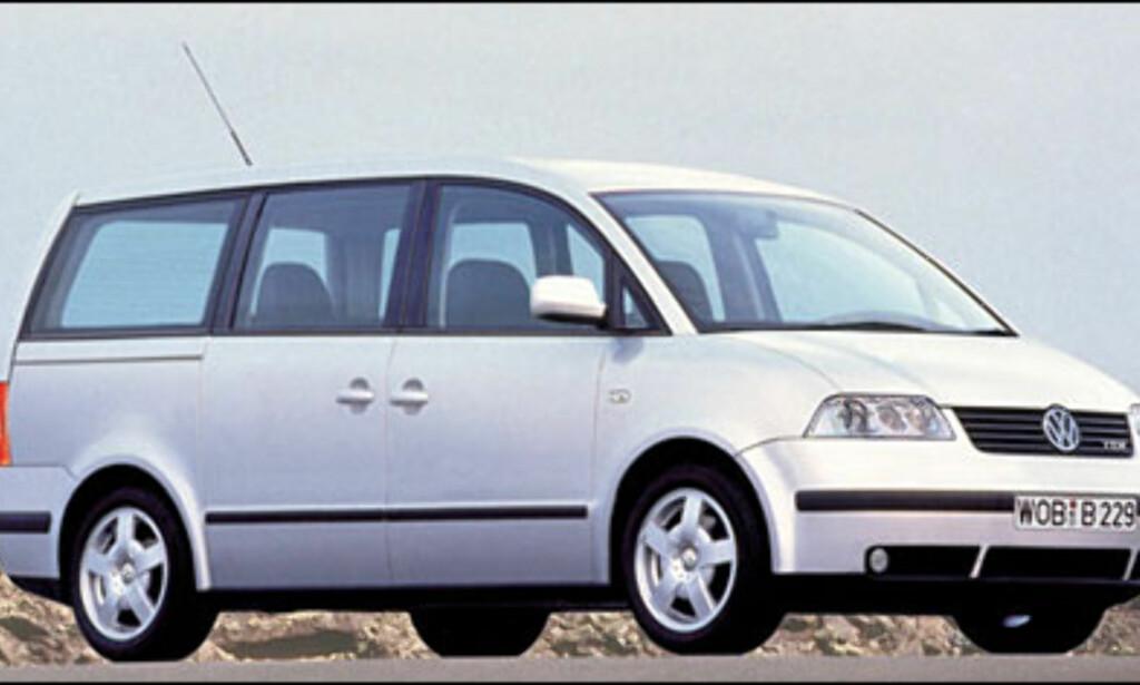 VW T5: Sharan-etterfølger dukker kanskje opp på Frankfurt-utstillingen.