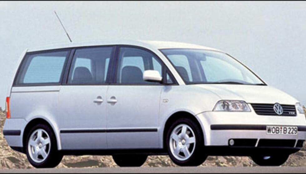 <strong>VW T5:</strong> Sharan-etterfølger dukker kanskje opp på Frankfurt-utstillingen.