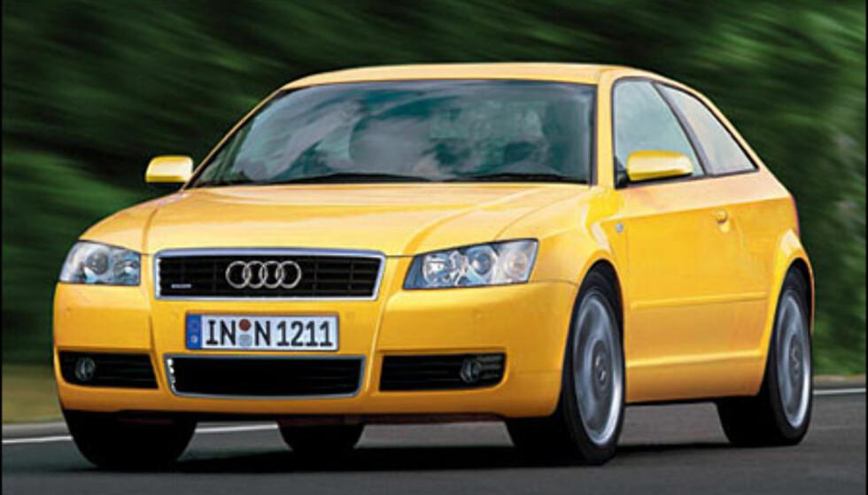 Audi A3: Dukker på Genevè-utstillingen til våren.