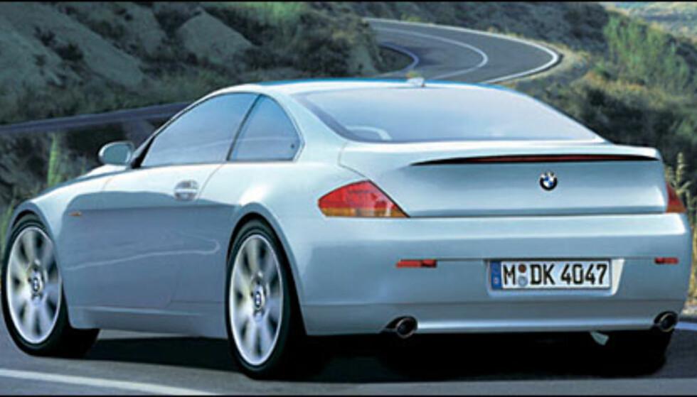 BMW 6-serie: Med fra 231 hestekrefter til over 500 hestekrefter blir etterfølgeren til 8-serien spennende. Kabriolet i 2004.