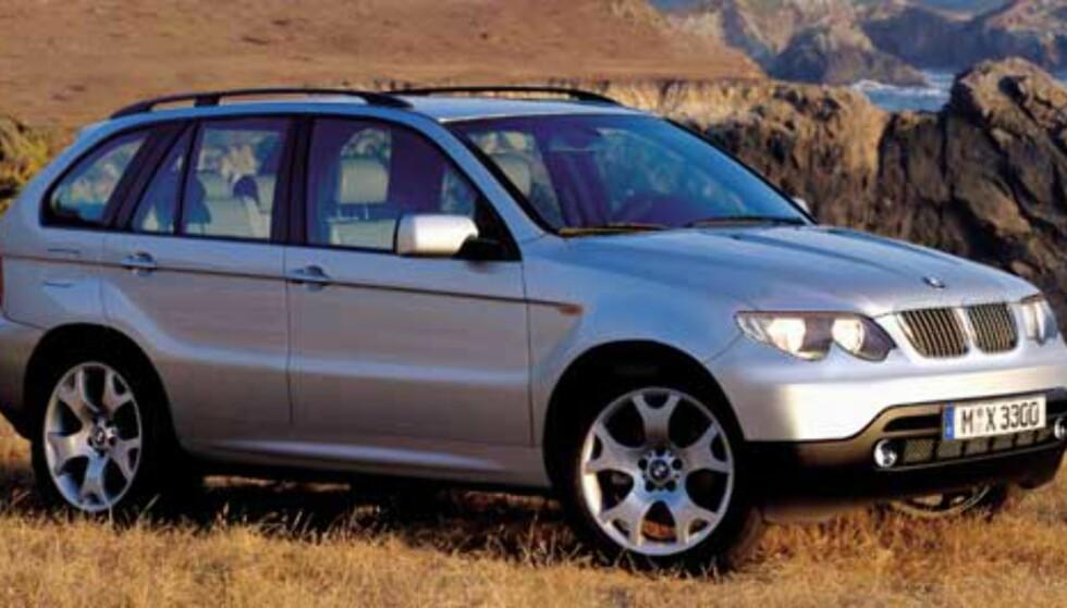 BMW X3: Lillebror til suksessen X5.
