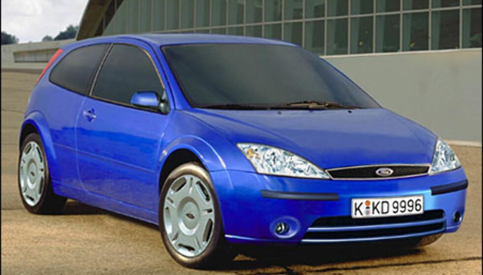 Ford Focus: Tynt med informasjon om viktig kompaktklassebil. Ventet på Frankfurt-utstillingen.
