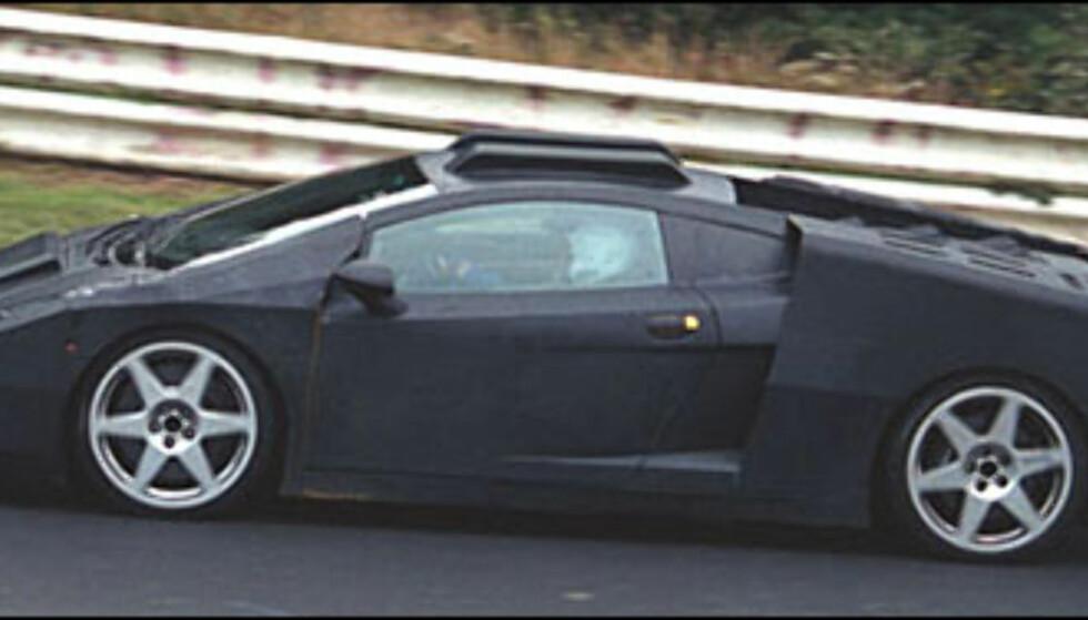 Lamborghini: Liten 911- og 360-konkurrent med kodenavn L140. V10 og over 500 hestekrefter.