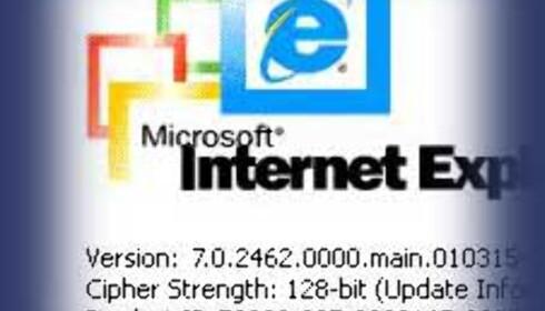 Internet Explorer 7 på trappene?