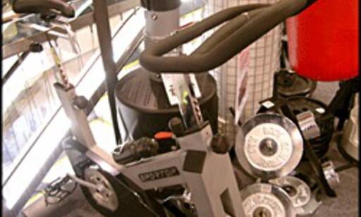 Denne sykkelen fra Sportop (7.399 kroner hos XXL) er blant luksusmodellene. Den har en rekke datafunksjoner og 30 kilo tungt svinghjul. Billigere spinningsykler koster 3 - 4.000 kroner.