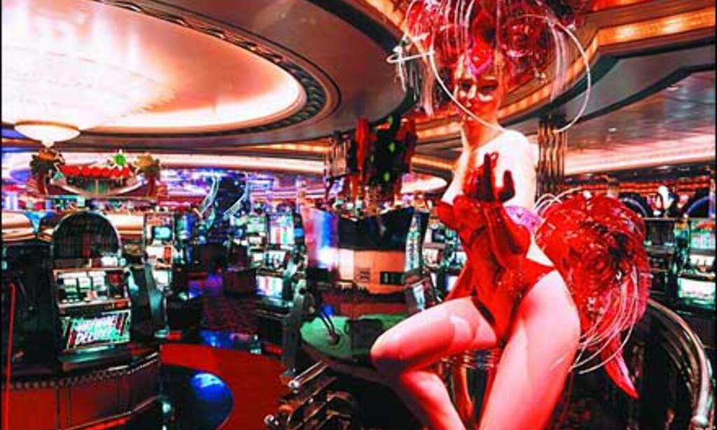 Casino Royale ombord i Explorer of the seas. Foto: RCCL