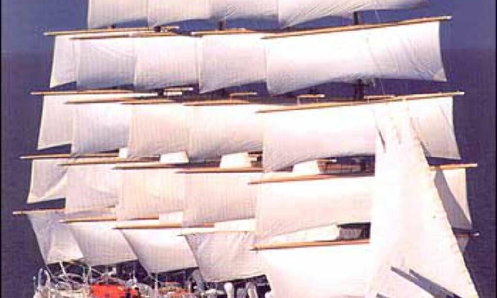 Royal Clipper for fem masters seilføring.