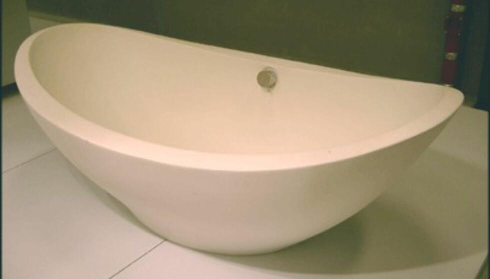 Prisbelønnet badekar fra Compasso d'Oro-utstillingen. (Foto: Dag Yngve Dahle)