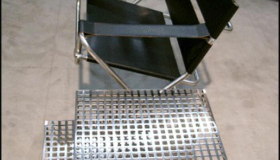 Velkjent designerstol av Marcel Breuer. Fås hos Artinteriør.  (Foto: Dag Yngve Dahle)