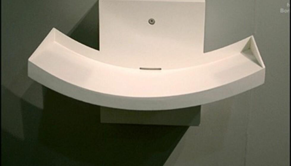 Slank vask fra Compasso d'Oro-utstillingen. (Foto: Dag Yngve Dahle)