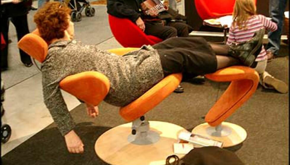 Stolen Peel fra Stokke er norsk møbeldesign på sitt beste. (Foto: Dag Yngve Dahle)