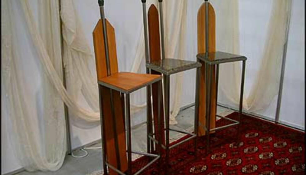 Du skiller deg ut med disse stolene fra Emporium. (Foto: Dag Yngve Dahle)