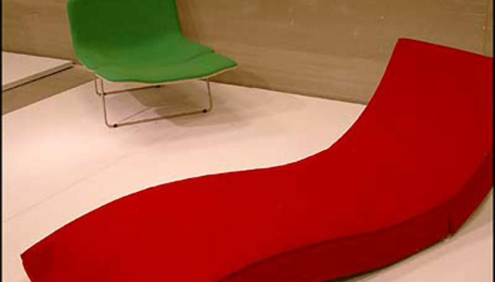 Inspirerende farger på Compasso d'Oro-utstillingen. (Foto: Dag Yngve Dahle)