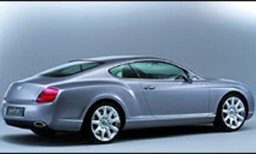 image: Bentley GT Coupé