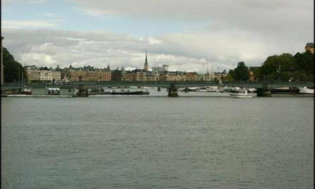 Utsikt mot Östermalm, Stockholms mest eksklusive bydel med leiligheter i svært høy prisklasse.