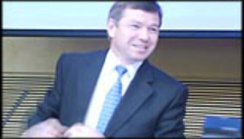 Statsminister Kjell Magne Bondevik