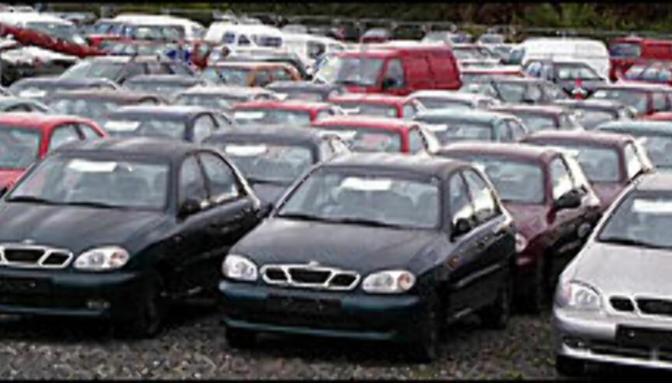 Økte avgifter på personbiler